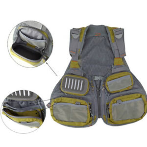 Aventik Multi Pocket Fly Fishing Vest PhotographyPocketVest with Adjustable Size