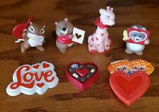 New ListingValentine, Hallmark Merry Miniatures And 4 Hallmark Pin