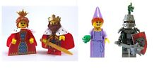4x SEALED LEGO Series 12 13 15 Princess King Queen Frightening Knight Castle