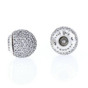 Pandora Essence Collection Interchangeable end caps in sterling silver