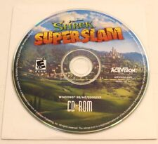 Shrek SuperSlam PC Game Disk And Sleeve By Activision CD Rom