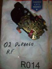 2002 DODGE DURANGO PASSENGER Right  Front RF DOOR LATCH W/ACTUATOR TESTED#R014