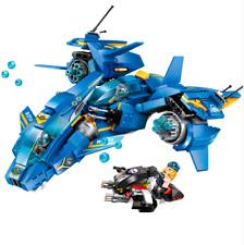 406 Pcs High-Tech Era Air Combat Fighter 3 Figures DIY Blocks Building Toy