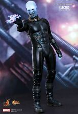 "Sideshow Hot Toys 12"" 1/6 MMS246 Amazing Spiderman 2 Electro Jamie Foxx Figure"