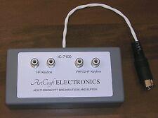 IC-7100 PTT Breakout Box for V/UHF HF Amplifier or Transverter