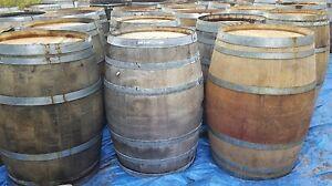 Authentic Used Oak Wine Barrel - Make An Offer