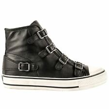 Ash Women's Virgin High Top Trainers Black UK 5