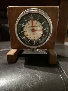 Vintage Airguide 7 Jewel 8 Day Marine Boat Clock Ex+