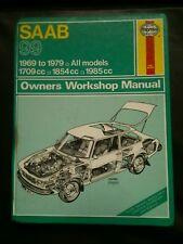 Sabb 99 haynes workshop manual 1969-1979 inc turbo