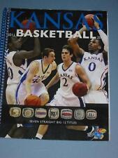Kansas JAYHAWKS 2011-2012 KU Basketball Media Guide NEW - NCAA Runner-up  2012