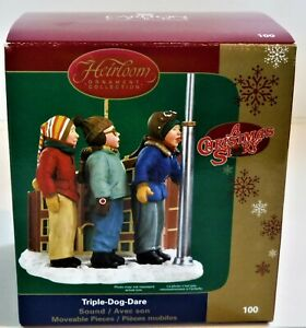 Christmas Story Ornament  2006  TRIPLE DOG DARE  Carlton CARD Hallmark style