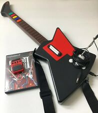 Nyko Frontman Guitar for Guitar Hero on Playstation 2 w/ Game & Wireless Adapter