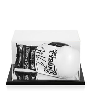 Mike Tyson Signed Boxing Glove - White, Tattoo, Undisputed Heavyweight Champion