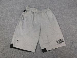 NBA Boys Athletic Basketball Shorts Size Youth Large 14-16 Gray