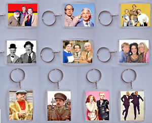 Comedy Series, Double Acts, Photo Keyring / bag tag, clear plastic,