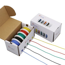 StrivedayTM 30 AWG Flexible Silicone Wire Electric wire 30 gauge Coper Hook Up