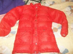REI Goose Down Vintage Parka Puffer Jacket Coat Rare Med USA MADE SeattleWA NICE