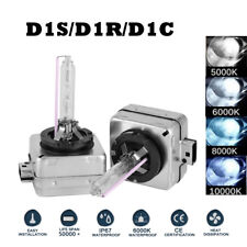 10000K D1S 35W HID Xenon Car Headlight Bulbs Lamps For Factory Cars Replacement