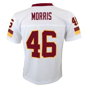 Alfred Morris NFL Chicago Bears Mid Tier Away White Replica Jersey Youth (S-XL)