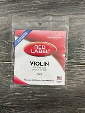 NEW Super Sensitive Red Label Violin Strings Sets 2105 (Size: 3/4)