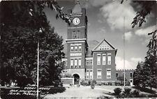 D53/ Iron Mountain Michigan Mi RPPC Postcard County Court House 1952    3