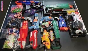 13 Nerf Gun LOT Revonix 360 Rival XVI-1200 XV-700 Elite N-Strike Zombie Proton