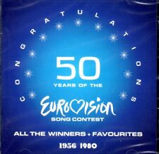 2 CD 50 Years of Eurovision Song Contest 1956-1980 Winners,very best of, NEU NEW