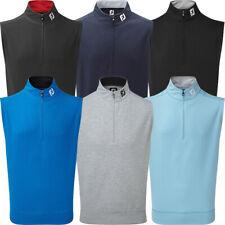 FootJoy Mens Spun Poly 1/2 Zip Golf Vest