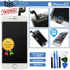 White iPhone 6S Screen Replacement LCD Digitizer Touch Home Button Camera Tools