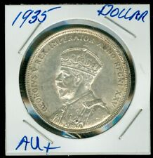 1935 CANADA SILVER DOLLAR HIGH AU GRADE NICE COIN