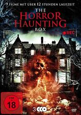 9x Haus Films d'HORREUR THE Horreur HAUNTING BOX Bates AMITYVILLE House DVD
