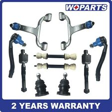 Front Suspension Control Arm Kit Ball Joint Tie Rod Fit for Mercedes W163 ML320