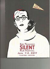 2017 SAN FRANCISCO SILENT FILM FESTIVAL PROGRAM UNUSED CONDITION!