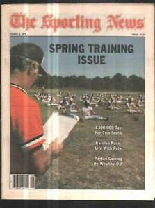 The Sporting News Newspaper Mar 3, 1979 Spring Training Issue