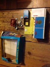 Vintage Toy Kitchen Range Plastic Dolls Kitchen Plush Pots And Pans