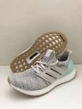 adidas Ultra Boost Womens DB3212 Carbon Clear Mint Primeknit Shoes Size 7.5