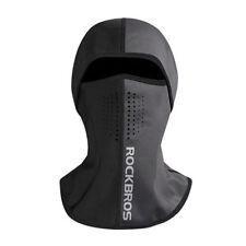 ROCKBROS Winter Cycling Skiing Thermal Warm Face Mask Outdoor Cap Black Gray