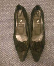 Womens DI SANDRO Italian Black Shoes - EU 37 1/2 UK Size 4 1/2