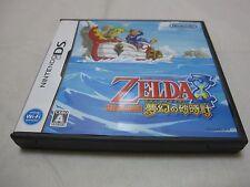 7-14 Days to USA USED Nintendo DS The Legend of Zelda Phantom Hourglass Japanese