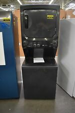 "GE GUD27ESPMDG 27"" Black Electric Laundry Center NOB #78778 HRT"