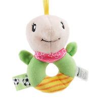 Kids Baby Animal Handbells Developmental Toy Cartoon Cute Plush Bells Rattle L