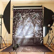 5X7FT Photography Background  Fairy Tale Light European Flower Backdrop Props