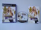 Hannah Montana En gira mundial - Juego PS2 - con instrucciones - Playstation 2