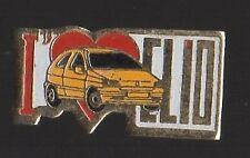 Pin's voiture Clio