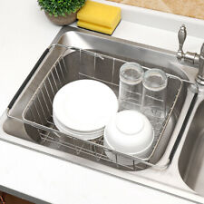 In Sink Dish Drying Rack Drainer Over The Sink For Small Spaces Inside Hanging