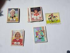 Panini 42 ungeklebte verschiedene Sammelbilder Fußball Bundesliga 82 / 1982