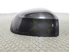 BMW X5 F15 13 On N/S Passenger O/S Driver Carbon Fiber Mirror Cover 51162337580