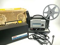 1963 KODAK CHEVRON 8 MOVIE PROJECTOR vintage 8mm film player MODEL No. 280 works