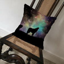 Wolf Starry Sky Howling Night - Covers Pillow Cases Home Decor or Inner