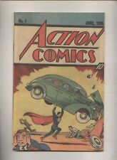 Action Comics #11938 Reprint  Nestle Quick Promo 1987 DC Comics  Superman